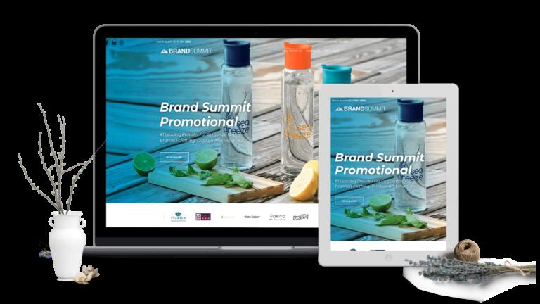 BRAND SUMMIT PROMO WEB DESIGN